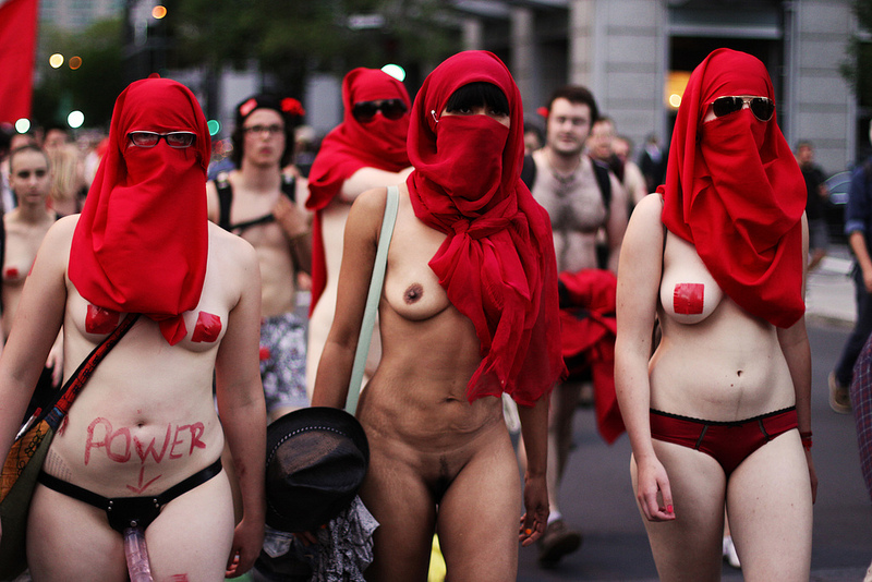 Polish Protesters Go Nude As Abortion Fight Takes New Form